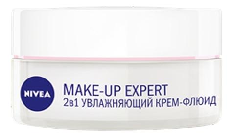 Крем-флюид для сухой и чувствительной кожи 2 в 1 Make-Up Expert 50мл крем флюид make up expert 2в1 увлажняющий для сухой и чувствительной кожи 50 мл