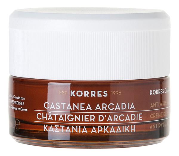 Дневной крем для лица с экстрактом каштана Castanea Arcadia Anti-Wrinkle & Firming Day Cream Normal Combination Skin 40мл