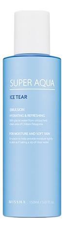 Эмульсия для лица увлажняющая Super Aqua Ice Tear Emulsion 150мл глубоко увлажняющая эмульсия calranico deep moisturizing aqua emulsion