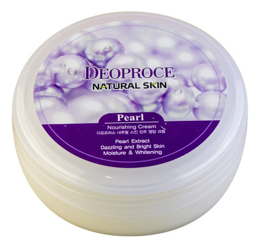 Фото - Крем для лица и тела с экстрактом жемчуга Natural Skin Pearl Nourishing Cream 100г крем для тела с экстрактом зверобоя и маслом ройбоша skin nourishing body cream крем 50мл