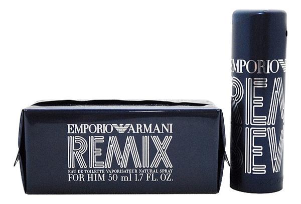 Фото - Emporio Remix Men: туалетная вода 50мл emporio diamonds rose туалетная вода 50мл тестер