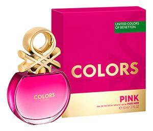 Купить Colors de Pink For Her: туалетная вода 50мл, Benetton