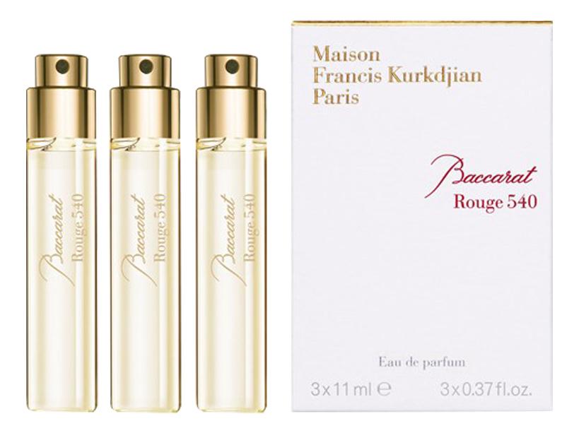 Baccarat Rouge 540: парфюмерная вода 3*11мл maison francis kurkdjian baccarat rouge 540 отливант парфюмированная вода 18 мл