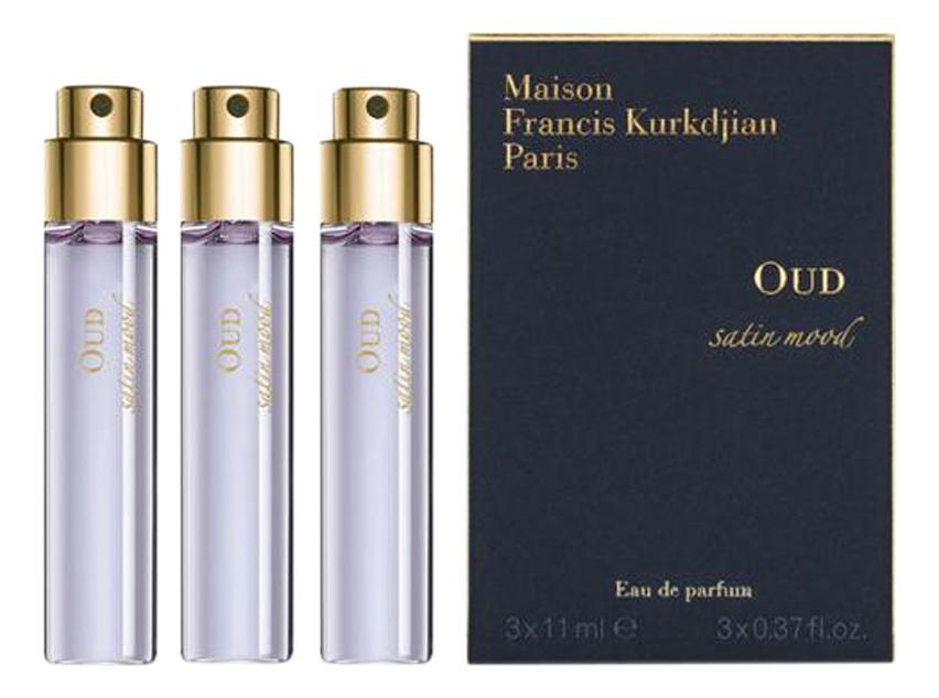 Francis Kurkdjian Oud Satin Mood: парфюмерная вода 3*11мл francis kurkdjian oud satin mood парфюмерная вода 2мл