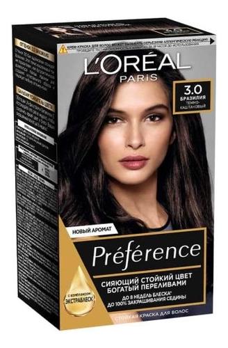 Краска для волос Preference 60мл: 3 Бразилия