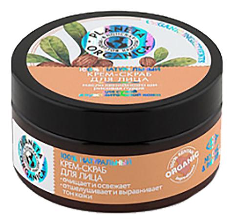 Скраб-крем для сухой кожи лица Face Cream-Scrub For Dry And Sensitive Skin 100мл excellance moscow express foaming peeling for dry and sensitive skin