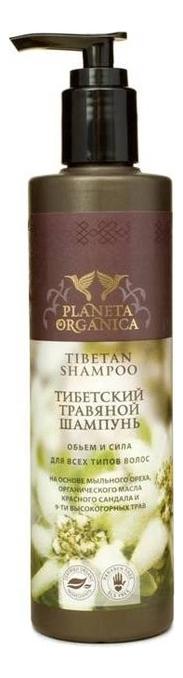Тибетский травяной шампунь Объем и сила Tibetan Shampoo 280мл