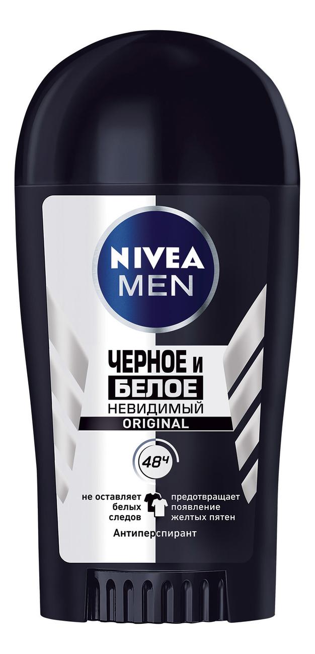 Купить Дезодорант-стик Невидимый для черного и белого Men 40мл, NIVEA