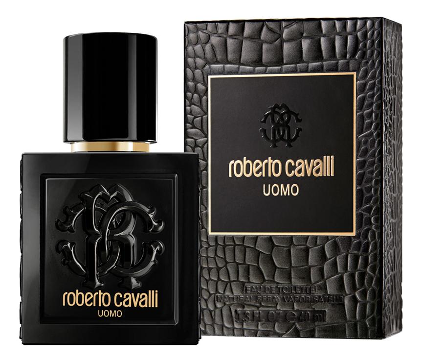 Roberto Cavalli Uomo: туалетная вода 40мл roberto cavalli roberto cavalli uomo м набор туалетная вода 60мл гель для душа 75мл