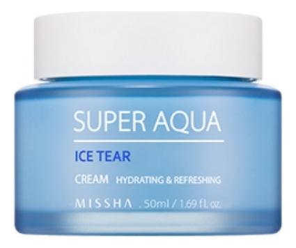 Крем для лица увлажняющий Super Aqua Ice Tear Cream 50мл крем для лица увлажняющий anti blemish aqua cream 50мл