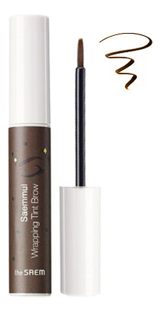 Тинт для бровей Saemmul Wrapping Tint Brow 5,5г: BR02 Dark Brown