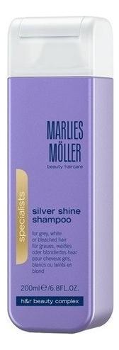 Шампунь для блондинок против желтизны волос Specialist Silver Shine Shampoo 200мл